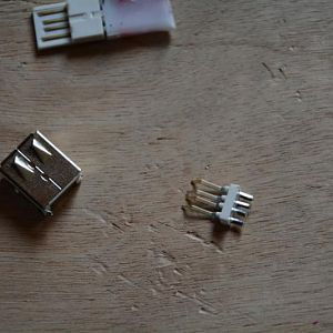 usb port female 2 pieces