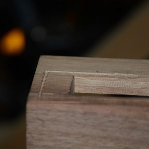 wood cut (chisel)