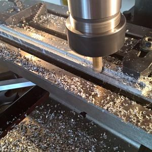Milling the rails 1
