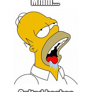 Mmm Salted Hashes Homer